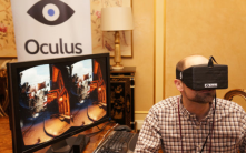Oculus Rift is a virtual reality headset, which has the potential of changing the gaming industry for ever.