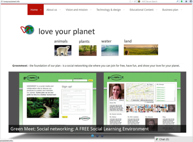 This is our project in Designing a New Learning Environment course from Stanford University. We hope it could provide environment education.