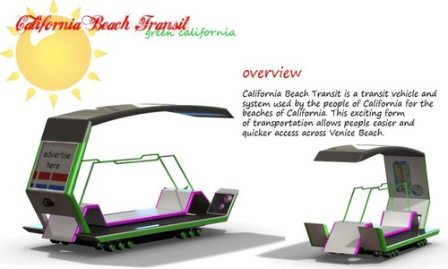 Solar Powered Beach Transit, CA