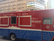 city hall on wheels in boston (to allow residents to access city hall services in their neighborhoods!)