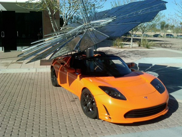 Monarch Power - solar battery-electric vehicles for modern flower