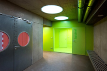 eco friendly light and walls