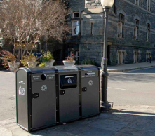 A novel waste collection management system to calculate the optimal route for garbage trucks based on real time traceability data.