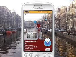 Layar: augmented reality app. It's a very flexible tool for locate information in places: Hospitals, hostels, etc. http://www.layar.com