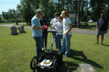 The award winning Horry County Cemetery Project combines preservation of local history, community outreach and technology.