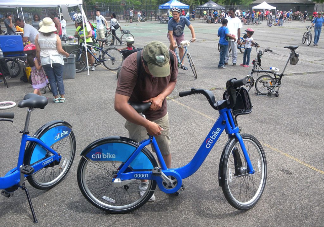 CitiBike, NYC.