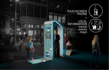 Yet another design to redesign the pay-phone booths in NYC.