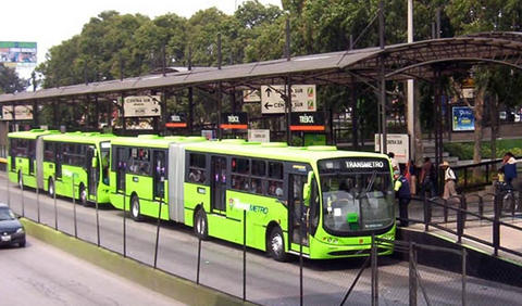 From informal bus transit system to centralized secure and nicer system.