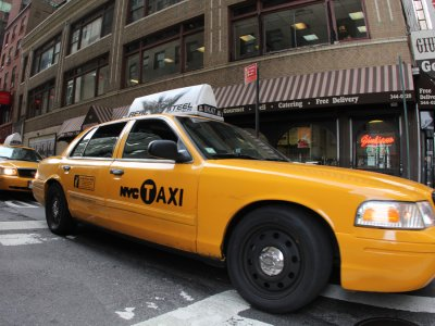 New York wants to let turn cabs into smart cabs.