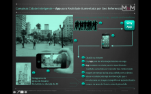 Rosario Square City App based on Augmented reality to visualize Historic Monuments, integrating a City App platform for Campinas 2M habitant