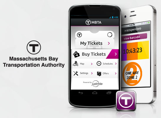 A new app allows commuters in Boston, MA to purchase tickets for commuter rail and ferry lines via mobile phone anytime within seconds.