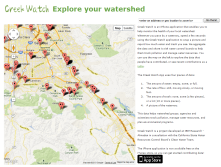 "creekwatch.researchl<wbr/><span class=""wbr""></span>abs.ibm.com - take a picture of trash/pollution, water flow - and it's all aggregated for cleanup and watershed mgmt."