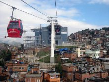 This kind of transport has changed a big community in Rio. Before, the where no connection between the big hill and the city