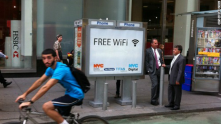 Some pay phones in Boston to offer free Wi-Fi Internet hotspots this summer- http://bo.st/13N24Mt