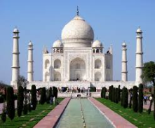 This is a Taj mahal  at  Agra -world famous monumnet