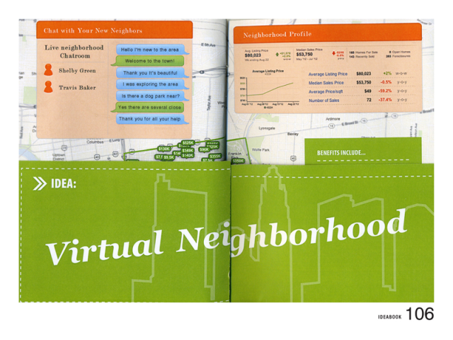 "This IDEA book offers a ""virtual neighborhood."""
