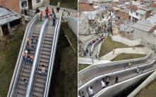 "Outdoor escalator in Columbia to cut walking commute in city w/ poor public transport - http://bit.ly/12ssgc<wbr/><span class=""wbr""></span>C"