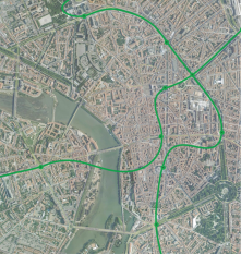 I created this map when working in Toulouse, France.
