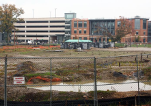 Geothermal Drilling, wells to heat and cool South Campus on Ohio State's campus.
