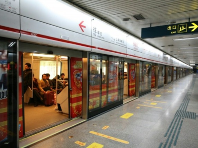 Safe and friendly train/metro stations - platform screen doors