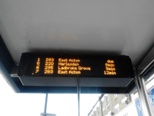 Bus stops in London have bus time trackers that allow us to make decisions. For me technology is all about giving options!