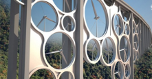 Solar and Wind energy generation adapted in future buildings, road and bridges designs.