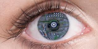 bionic eyes, and everybody blind will saw the world as it is