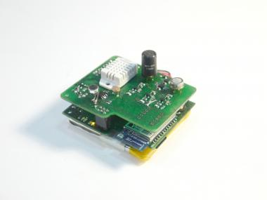 Arduino kit with several sensors for project http://goteo.org/project/smart-citizen-sensores-ciudadanos/home.