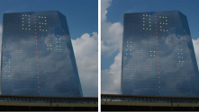 Philadelphia skyscraper becomes world's largest video game