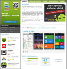 "Madrid Metro/Bus/Cercanias app. Android app that helps Madrid(Spain)citizen<wbr/><span class=""wbr""></span>'s to know timeout of public transportation"