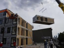 modular construction, more efficient and with more standardization on production