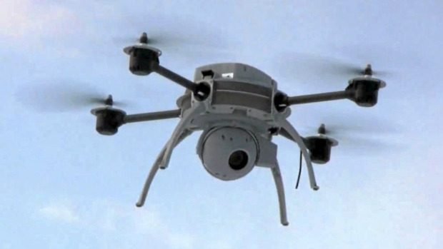 Already, municipalities in Canada have begun employing surveillance drones such as the one pictured above...