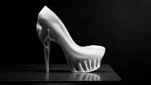 3D printers are revolutionizing production methods. From stem cell ears to high heeled shoes, it may prove to be a revolutionary technology.