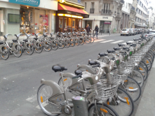Velib (Bike Sharing) - Paris<br/>