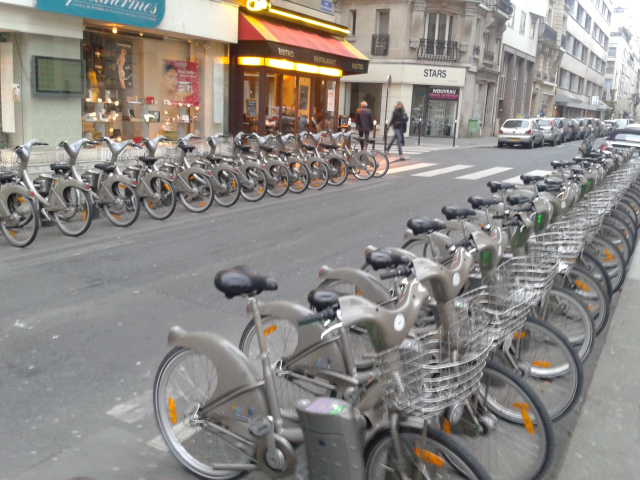 Velib (Bike Sharing) - Paris