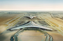 Kuwait International Airport. A perfect mixing of construction and technology.