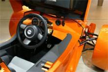 natural gas powered car