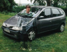 camouflage car