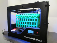This is a 3D printer. it is one of the most exciting technologies nowadays, and new 3d printers are being launched all the time.