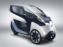 "TOYOTA i-ROAD CONCEPT<br/>It's a futuristic  ""Personal Mobility vehicle"".."