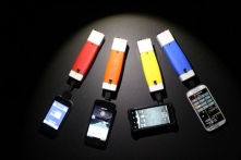 low-cost biomass-fueled cellphone charger and LED light