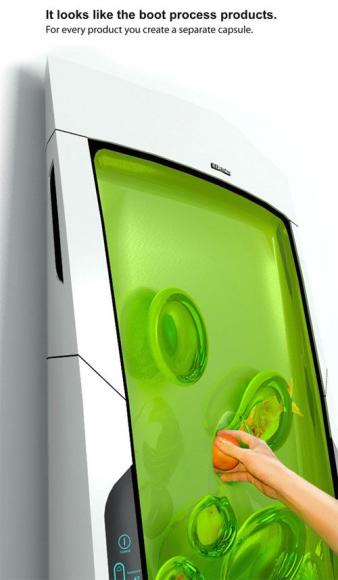 Bio Robot Refrigerator