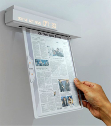 <br/>Newspaper of the future