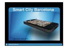 Barcelona, a world leader in the field of mobility and Smart City.