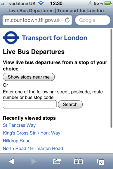 http://www.scoutlondon.com/2011/11/15/tfls-online-countdown-system-is-live-publicised/