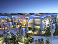 Masdar city a futuristic view