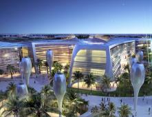 Masdar city a futuristic view
