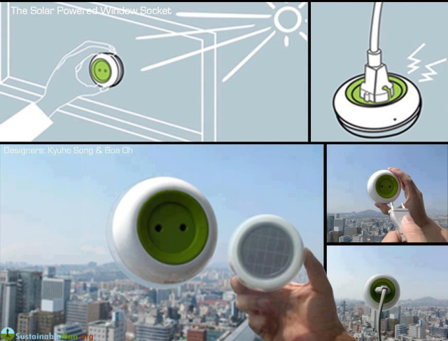 solar powered plugs--woo hoo!
