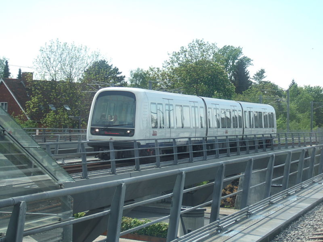 Copenhagen driverless light metro