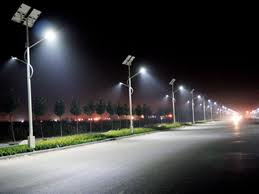 LED public light off the grid, a structural solution, wher required power infrastructure, or replacing existing luminares, less 60% power
